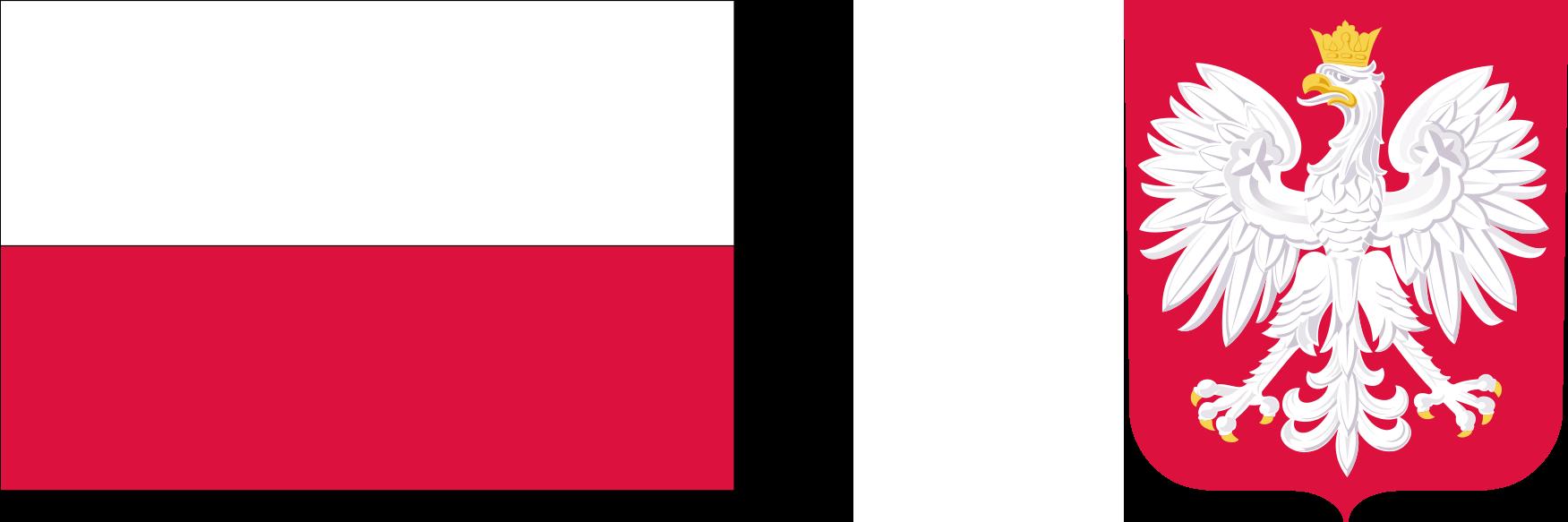 Polska - flaga, godło